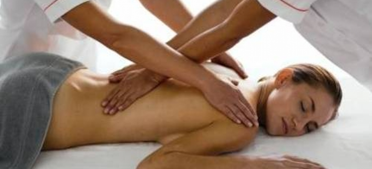 VIP massage on four hands